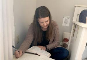 Quarantine Leads to Cedarville Education Major To Write, Publish Book